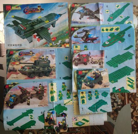 Конструктор Brick Enlighten Century Military (аналог Lego)