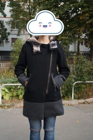 Шерстяное пальто Adidas (оригинал)