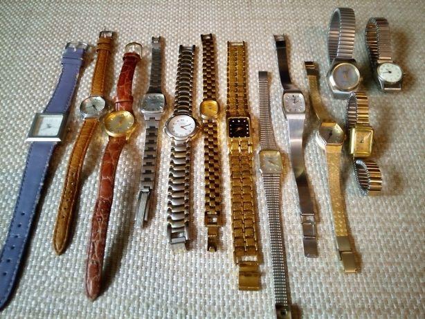 Damskie zegarki pakiet 13szt