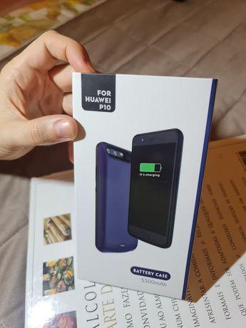 Capa powerbank Huawei P10