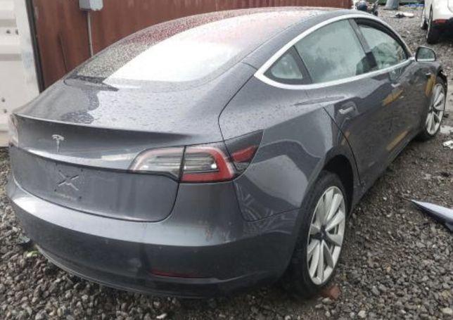Tesla model 3 разборка запчасти тесла s x y фара дверь крыло капот
