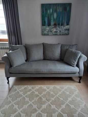 Sofa, kanapa 3 osobowa szara PRIMAVERA Queen sofa 3