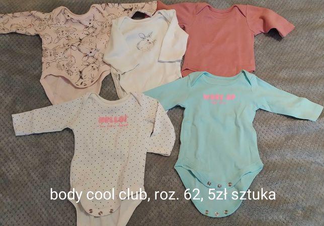 Body niemowlęce rozmiar 62