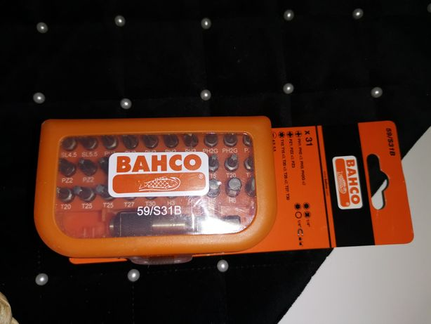 Zestaw końcówek Bahco