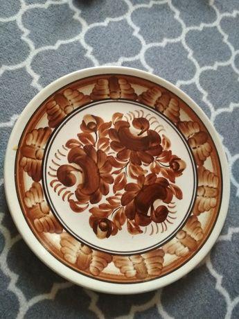 Ręcznie malowany talerz