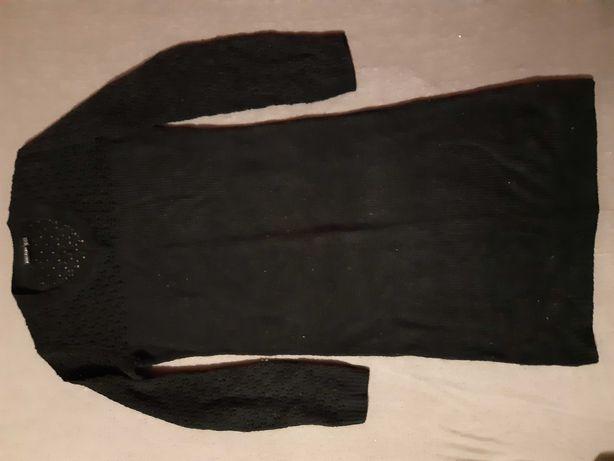sukienka bodyflirt czarna dzianina