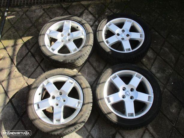 4 Jantes 16 Rover 25 45 com pneus