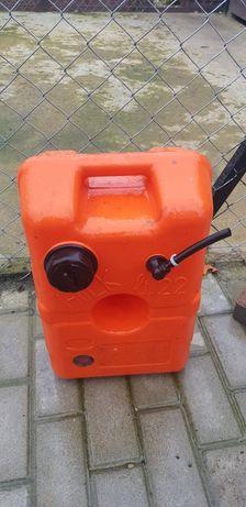 Plastikowy zbiornik paliwa łodz sea rayder motorowka bak paliwa rezerw