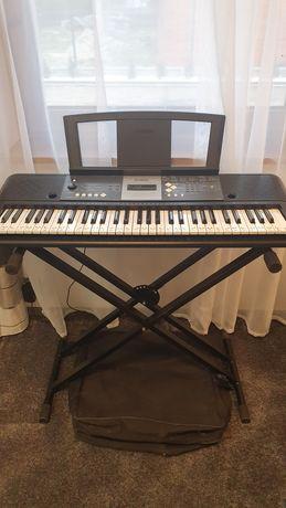 SUPER ZESTAW- Keyboard Yamaha YPT-230 ze statywem i torbą