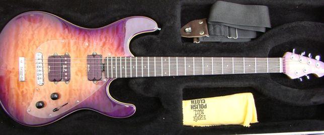 Music Man Steve Morse Custom Y2D Quilt PS