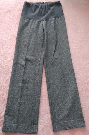 Ciążowe spodnie 100% wełna, r. M,