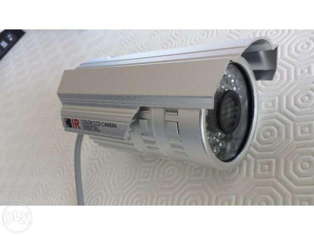 Camera CCTV 36 Leds sensor SONY SHARP 1/3 visão nocturna CFTV noite di