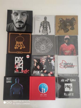 Płyty rap hip hop cd autografy