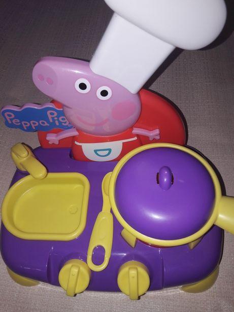 Игрушечная кухня плита Peppa Pig Свинка Пэппа посудка