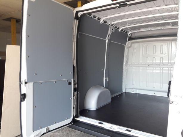 zabudowa bus ścianki boczki drzwi sklejka CNC Ducato Jumper Boxer L2H1