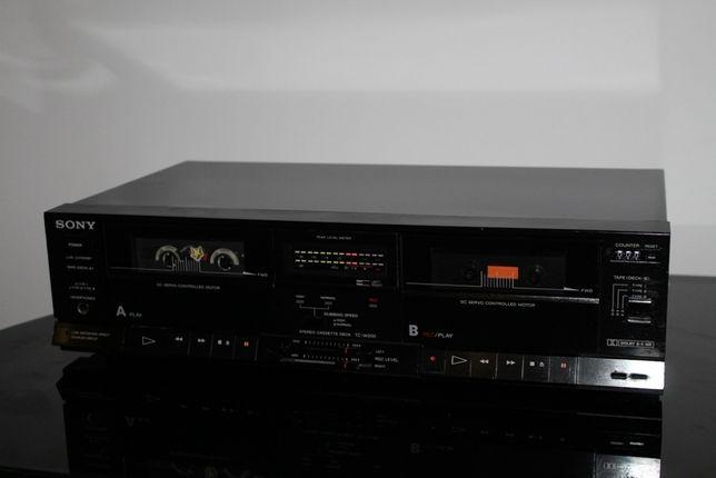 SONY TC-W200 Magnetofon deck dwukasetowy segment hi-fi stereo Wysyłka