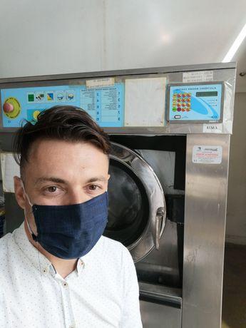 Assistência Máquina de lavar roupa industrial 20kg LM18
