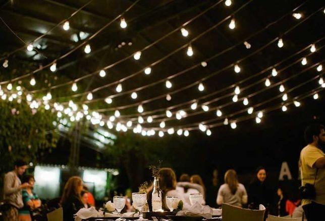 Iluminação de Arraial - Várias dimensões - Festas, Jardins, Esplanadas