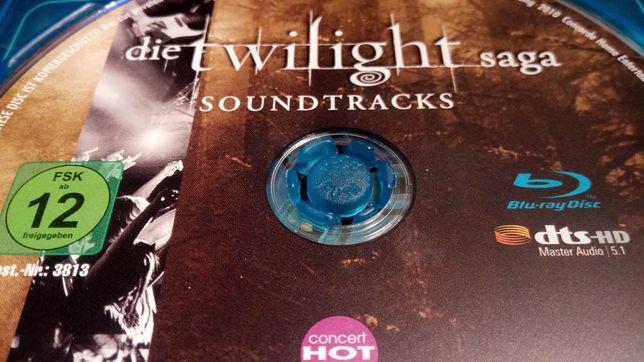 Saga Zmierzch Bluray Soundtracks DTS HD 5.1