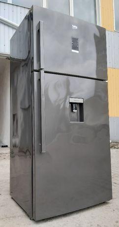 Холодильник широкий 85см Беко Beko DN 162220 611л А++ EverFresh