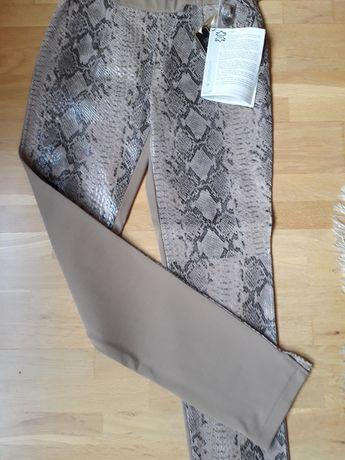 Spodnie nowe markowe wzór rozmiar 38