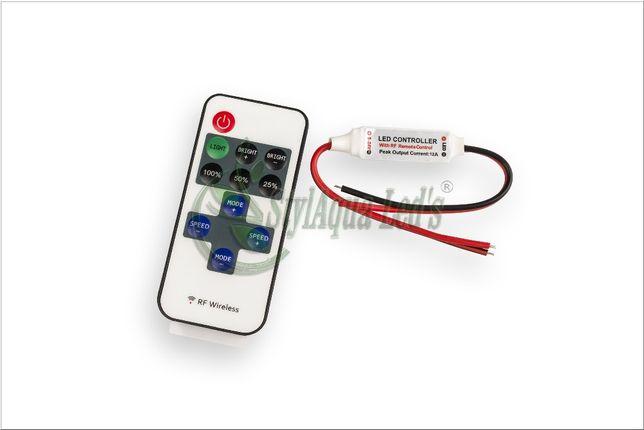 Sterownik /kontroler RF radiowy do taśm LED