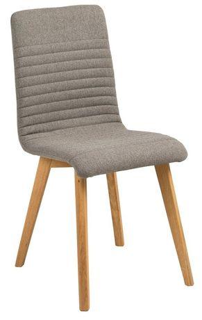 Krzesła drewniane szare tapicerowane nowoczesne komplet 4 szt