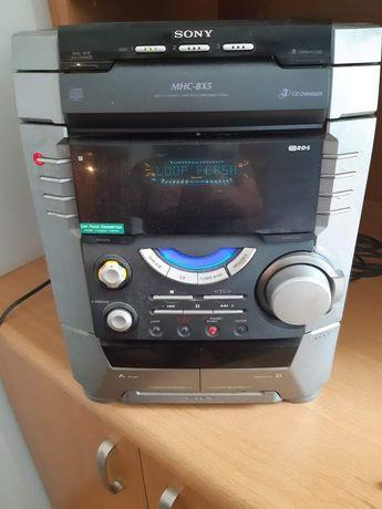 Wieża Sony MHC-BX5 /AUX, CD, radio, kasety //2 głośniki + pilot