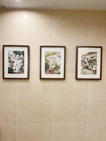 Obrazki w ramce, kwiaty, ramki Ribba Imea 30x 40 cm