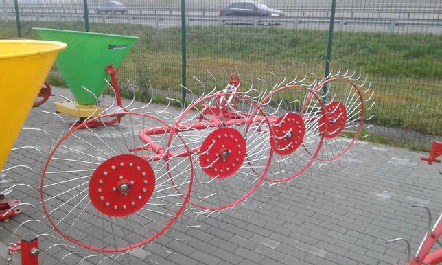 Сінограбарка, гребка Сонечко, сеноворушилка 4-5 колес Польща
