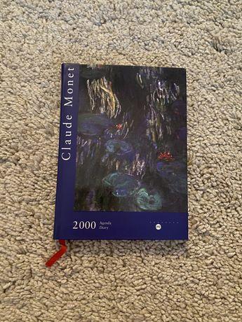 Agenda 2000 de Claude Monet (Sem Uso)