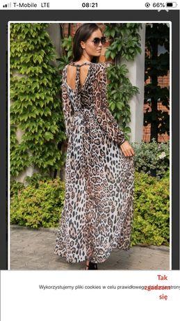 Sukienka dluga damska