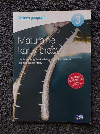 Maturalne karty pracy oblicza geografii