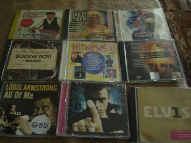 Płyty CD różne TANIO część w folii