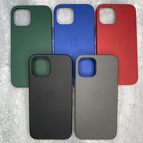 Leather Case iPhone 11,12 Pro/Pro Max/Mini Original Кожа.Чехол.Кейс