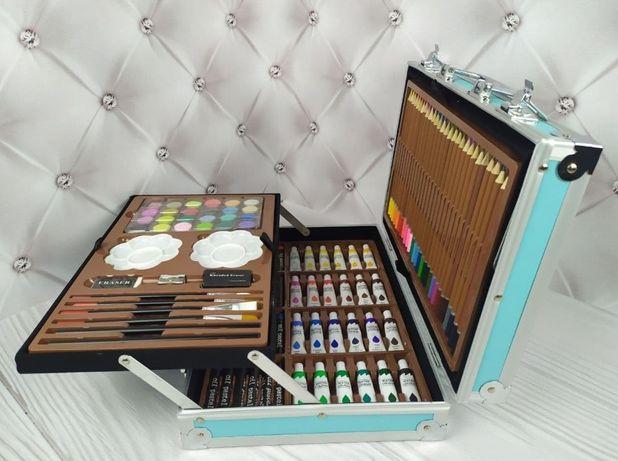 Детский набор для рисования в кейсе 145 предметов