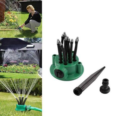 Умная система полива распылитель для полива газона на 360 градусов