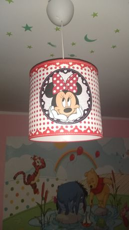 Lampa Abażur myszka Minnie Żarówka LED