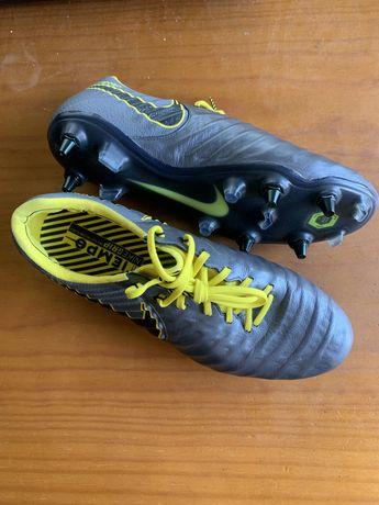 Nike Tiempo Legend 7 Elite SG-PRO Game Over - Dark Grey/Yellow