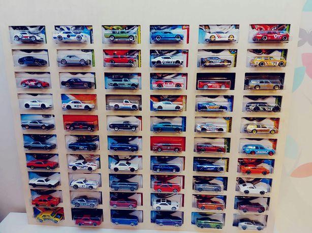 Półka na resoraki w blistrach autka samochodziki Hot Wheels Matchbox