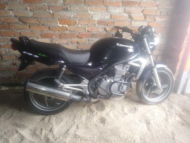 Sprzedam  motocykl Kawasaki ER 5 ; Możliwy transport