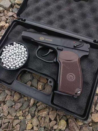 Страйкбольный пистолет ПМ + шары и баллон в подарок