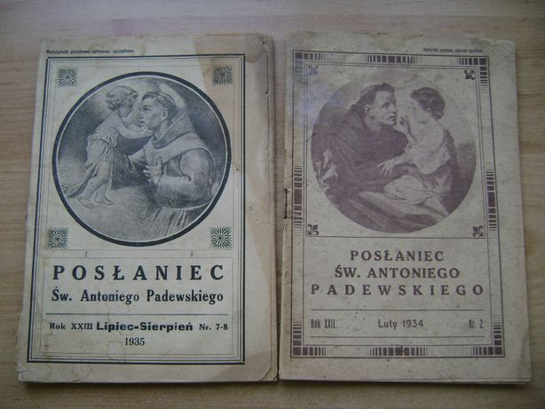 Starocie z PRL - Stare książki = 7 broszur przedwojennych