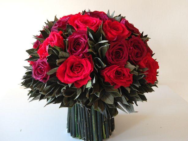 Kwiaty i rośliny stabilizowane -gotowe dekoracje -nowe niższe ceny