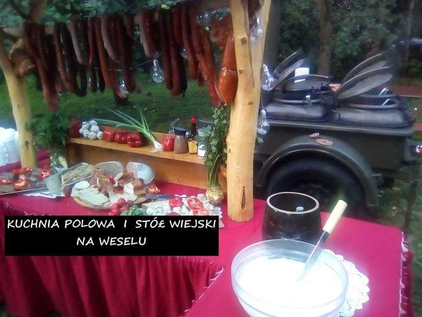Catering, katering, wesele, urodziny, kuchnia polowa, grochówka, grill