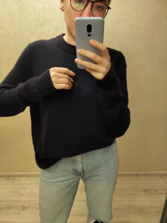 свитер кофта витшот кашемировый кашемир от COS Massimo Dutti