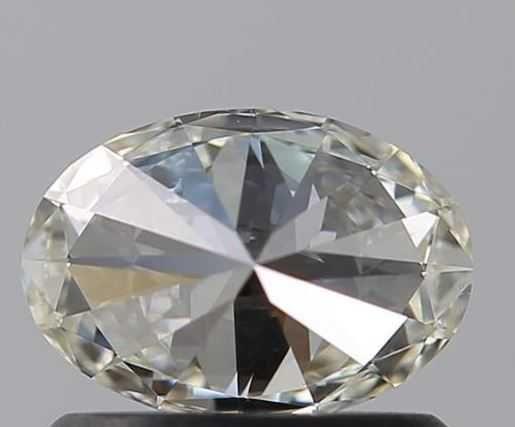 Diamante Oval Certificado
