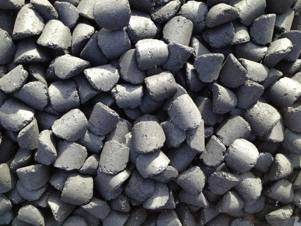 Антрацитовые топливные угольные брикеты