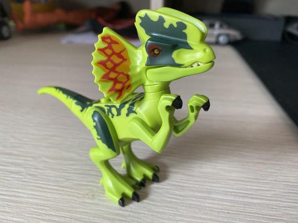 LEGO Jurasic World Dilophosaurus minfig