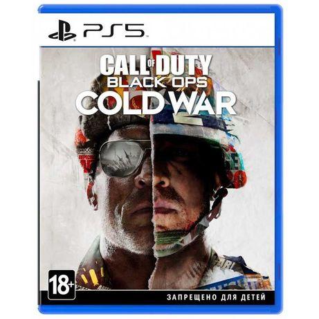 Диск PS5 Call of Duty: Black Ops Cold War (Официальная Украинская)